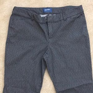 Old Navy Mid-Rise Pixie Pants- WORN ONCE
